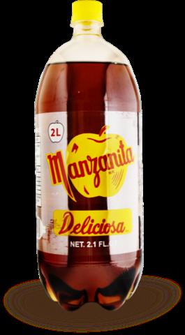 Manzanita no retornable 2l