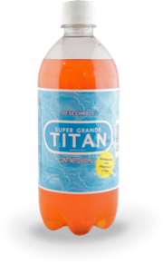 Titan Naranja no retornable 600 ml
