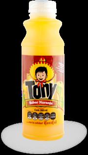 Tony Naranja no retornable 500 ml