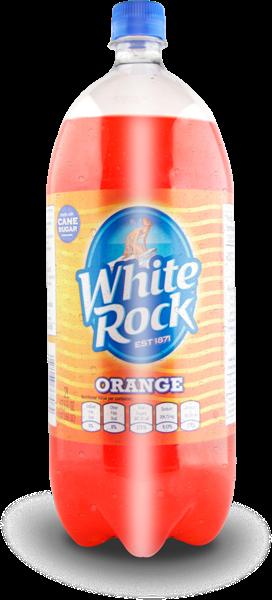 White Rock Naranja no retornable 2l