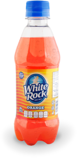 White Rock Naranja no retornable 600 ml